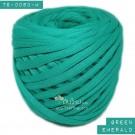 ไหมผ้า (T-shirt yarn) สีเขียวมรกต (Green Emerald)