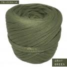 ไหมผ้า (T-shirt yarn) สีเขียวทหาร (Army Green)