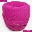 ไหมผ้า (T-shirt yarn) สีบานเย็น เม็ดสีเข้มออกอมแดง (Magenta)