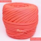 ไหมผ้า (T-shirt yarn) สีส้มอมชมพูจี๊ด (Juicy Sweet Pink Orange)
