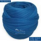 ไหมผ้า (T-shirt yarn) สีน้ำเงินโอเชี่ยน ทะเลเข้ม (Dark Ocean Blue Sea)