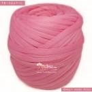 ไหมผ้า (T-shirt yarn) สีชมพูกุหลาบแสนหวาน (Sweet Rose Pink)
