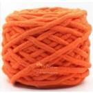 ไหมพรมอูด้ง ส้มเข้ม (Dark Orange)