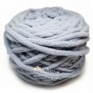 ไหมพรมอูด้ง เทาอ่อนอมฟ้า (Light Gray shade blue)