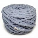 ไหมพรมอูด้ง เทากลางอมฟ้า (Middle Gray shade Blue)