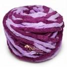 ไหมพรมอูด้ง สีม่วงหวาน/ม่วงไทยพาณิชย์ (Sweet Purple and SCB Purple)