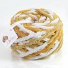 ไหมพรมอูด้ง ขาว-น้ำตาลเหลือง-น้ำตาลพระ