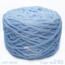 ไหมพรมอูด้งลิตเติ้ล รุ่นเส้นกลมเนื้อเนียน สีฟ้าอ่อน (Light Blue Sky) (100g.)