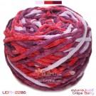 ไหมพรมอูด้งลิตเติ้ล รุ่นเส้นกลมเนื้อเนียน สีองุ่นเกรปเบอร์รี่ (Grape Berry) (ก้อนใหญ่ 160g.)